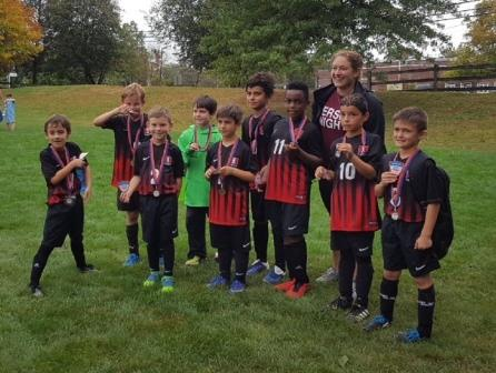 JK Jesters win the Parsippany Tournament!