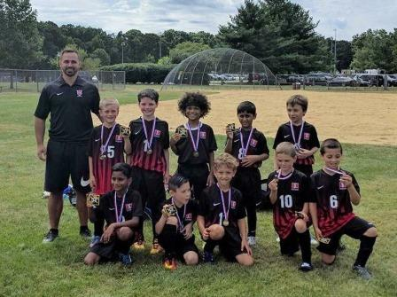 Arrows U9B Open Season with 3 Wins in So. Brunswick