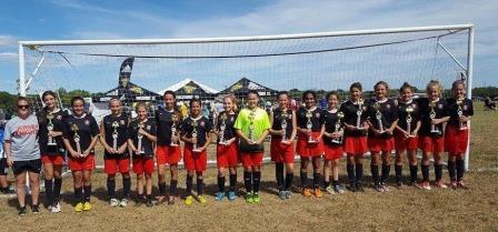 JK Fury Win Piscataway Tournament!