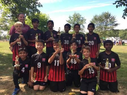 U11B Siege Takes 2nd Place in South Brunswick!