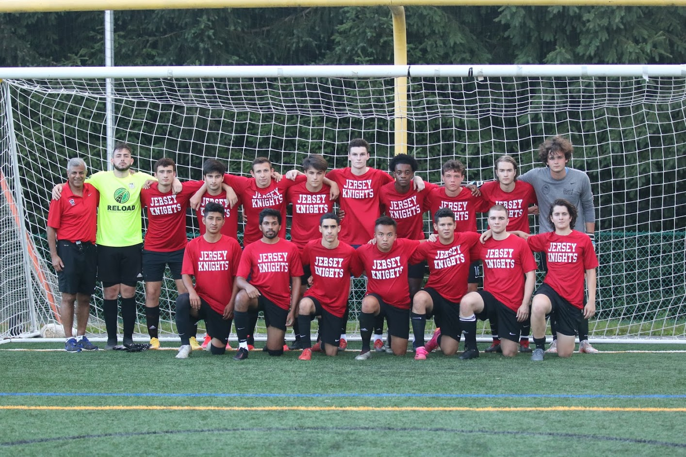 Jersey Knights U23M competing against Parsippany SC